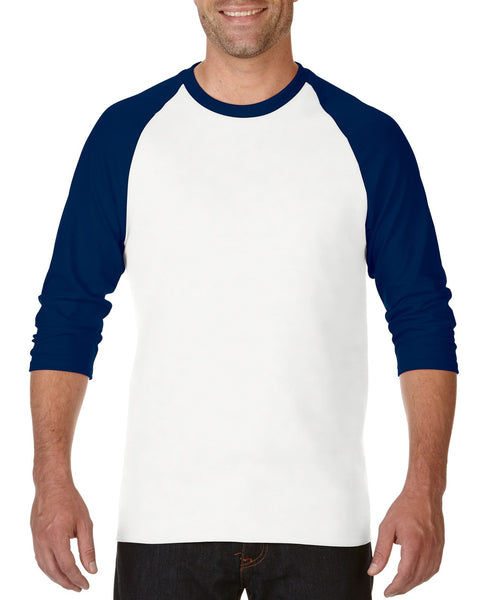Gildan Heavy Cotton Adult 3/4 Raglan T-Shirt 5700