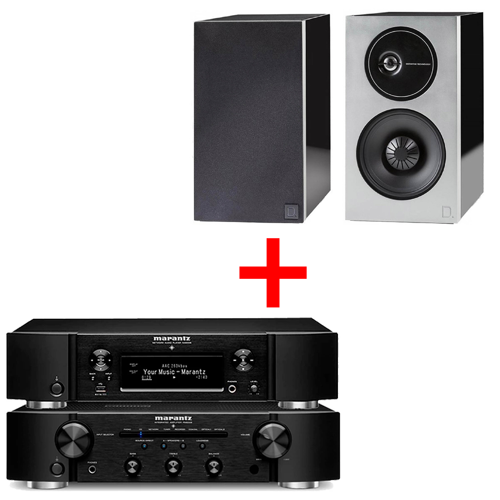 Marantz PM6007 + Marantz NA6006 + Definitive Technology D9