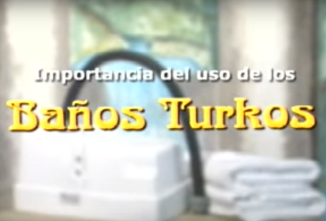 Infocomercial de los Baños Turkos (Origenes de Steam Drop, Inc)