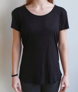 T-Shirt Basic mit Logo