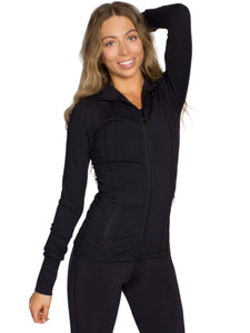 CONTOUR DESIGN SPORT JACKET - BLACK