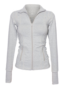 CONTOUR DESIGN SPORT JACKET - GREY MARL