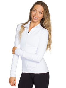 CONTOUR DESIGN SPORT JACKET - WHITE