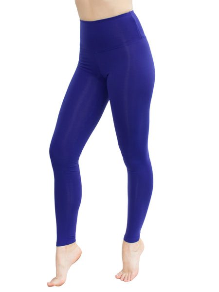HIGH WAISTED EXTRA SOFT LEGGINGS - ELECTRIC BLUE