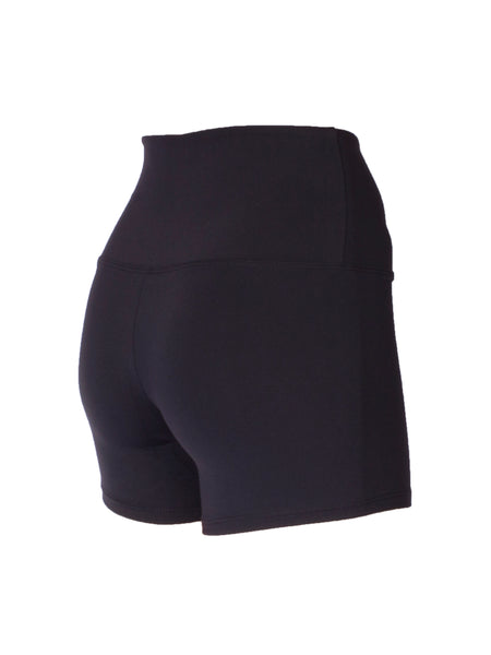 BRAZILIAN SUPPLEX® EXTRA HIGH WAISTED BOOTY SHORTS - BLACK