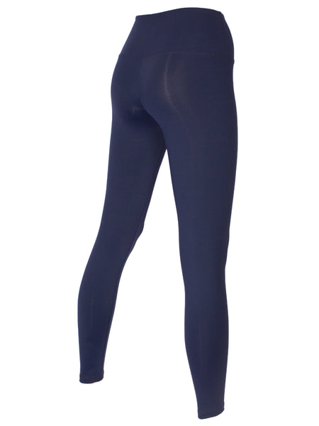 HIGH-WAISTED FULL LENGTH TIGHT - NAVY
