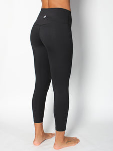 SHAPER YOGA TIGHTS - BLACK