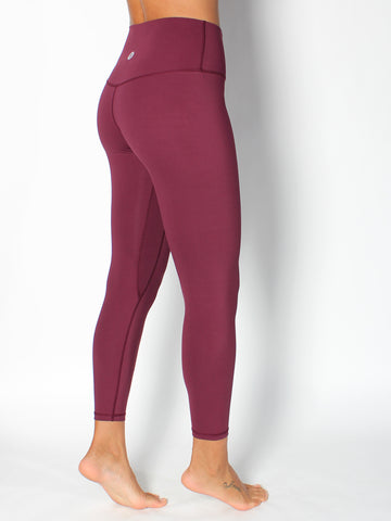 SHAPER YOGA TIGHTS -  RUBY