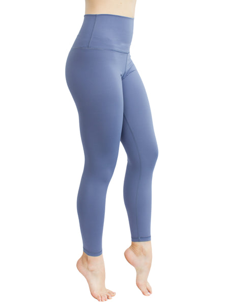 POWERLIFT ANKLE BITER TIGHTS - DUSTY BLUE