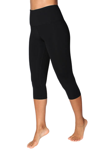 CAPRI SUPPLEX TIGHTS WITH SUPPORTIVE WAISTBAND