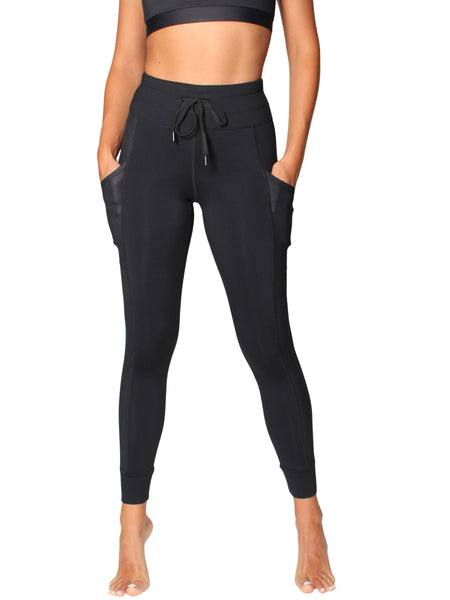 FEEL GOOD HYBRID JOGGER - BLACK