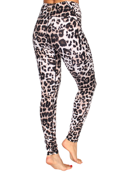 ULTIMATE SHAPER F/L LEOPARD TIGHTS