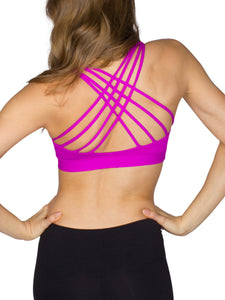 SUPPLEX® X-BACK SPORTS BRA - RASPBERRY