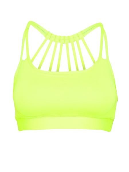 ZEN SUPPORT LOCALLY MADE SPORTS BRA - NEON