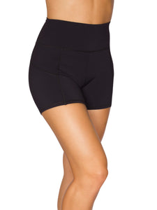 BRAZILIAN SUPPLEX® HIGH-RISE BOOTY SHORTS - BLACK