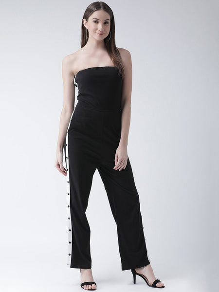 Jump Suit - Texco Women  Off Shoulder Jumpsuit