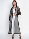 Texco  Sheer Long Shrug For Women