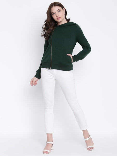 Texco Winter Hooded Jacket For Women - Fashiano