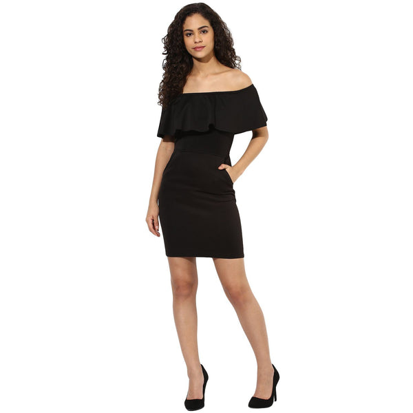 Dresses - Texco Women's Off Shoulder Party Dress