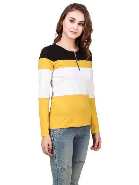 Texco Cotton Lycra Top For Women - Fashiano