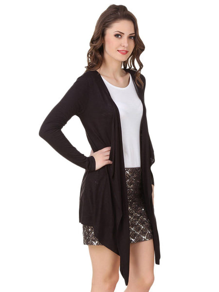 Texco Women's Waterfall Shrug - Fashiano