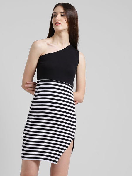 Texco Women Striped Body Con Dress - Fashiano