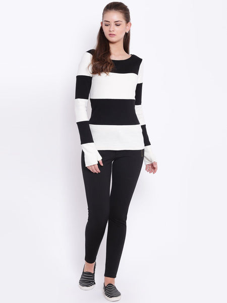 Texco Scoop Neck Winter Sweat Shirt For Women - Fashiano