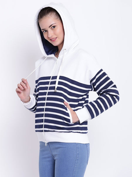 Texco Hooded Bomber Jacket For Women - Fashiano
