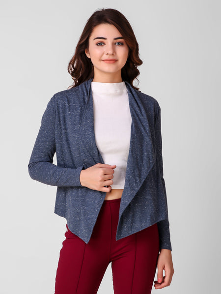 Texco Open Front Shrug For Women - Fashiano