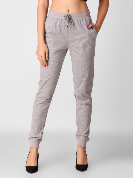 Texco Cotton Jersey Joggers for women - Fashiano