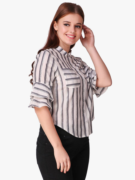 Texco Striped Women Shirt - Fashiano