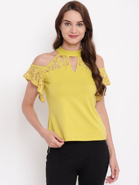 Texco  Lace Party Top - Fashiano
