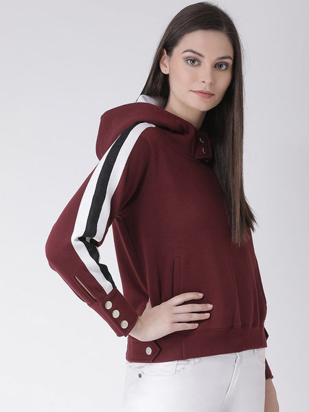 Texco Women  Hooded Sweatshirt - Fashiano