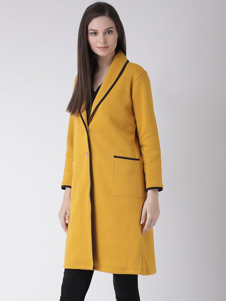 Coats - Texco Women Solid Winter Coat