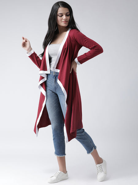 Texco Women  Waterfall Shrug - Fashiano