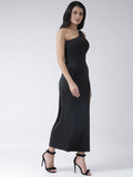 Texco Women Side Slit  Maxi Dress - Fashiano