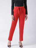 Texco Women Red Trousers - Fashiano