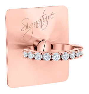 Rose Gold Signature - Original Swarovski Crystals by allurRing
