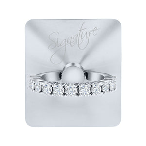 Silver Signature - Original Swarovski Crystals by allurRing
