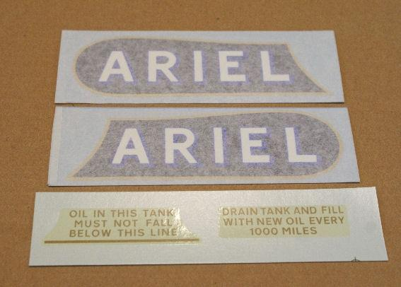 Ariel Sticker Set for De Luxe & 4F 1933