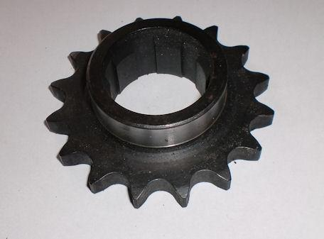 BSA C15, B40. 16T. Gearbox Sprocket