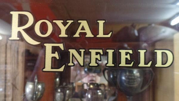Royald Enfield Sticker for Petrol Tank Side