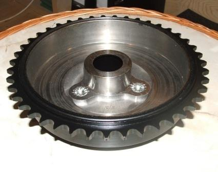 Norton 16H/ES2/Mod. 18 early Inter Rear Wheel Sprocket/Brake Drum 43T.