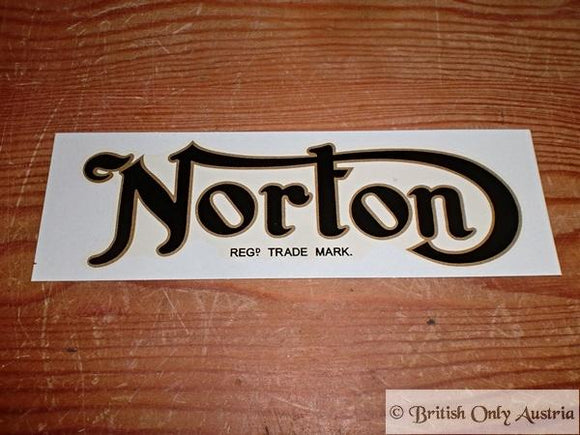 Norton Transfer for Tank early 1950's