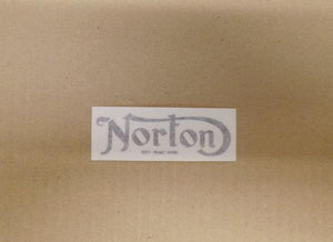 Norton Regd. Trade Mark Sticker