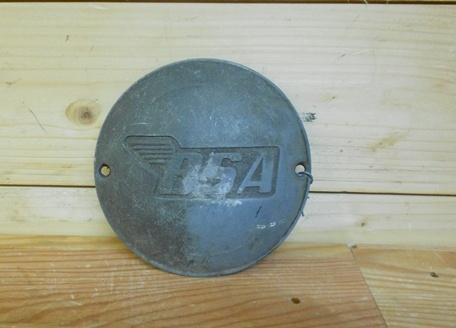 BSA Engine Badge