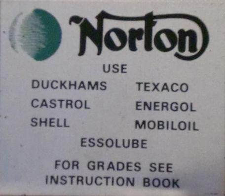 Norton Decal