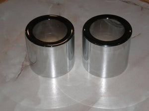 AJS/Matchless Jampot Bottom Shroud Chrome /Pair