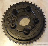 AJS/Matchless AMC Brake Drum / Rear Sprocket f. Full Width Hub 1957-