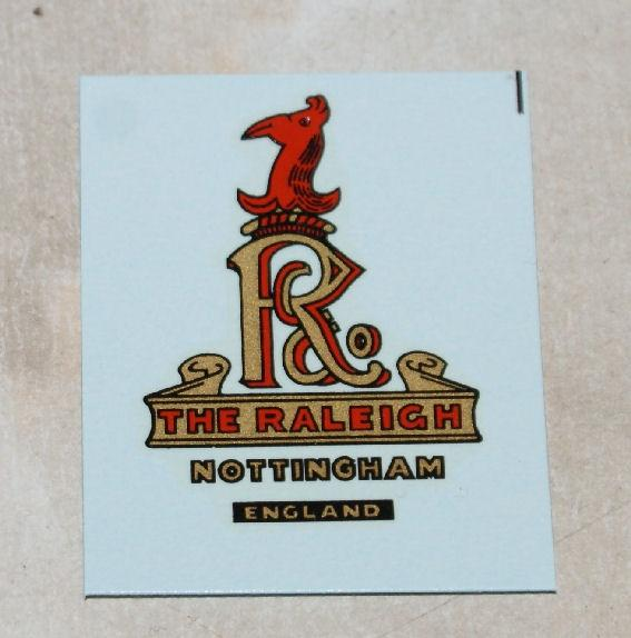 Raleigh Transfer for Headstock 1921-on